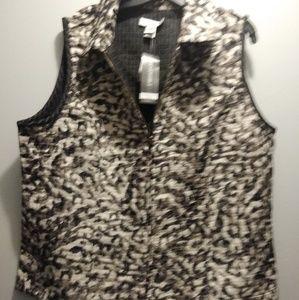 Printed reversible vest